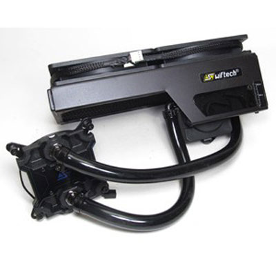 Ventilateur processeur Swiftech H220-X Kit de watercooling pour processeur (socket Intel LGA 775/1150/1151/1155/1156/1366/2011 et AMD2/AM3/FM1/FM2/939)