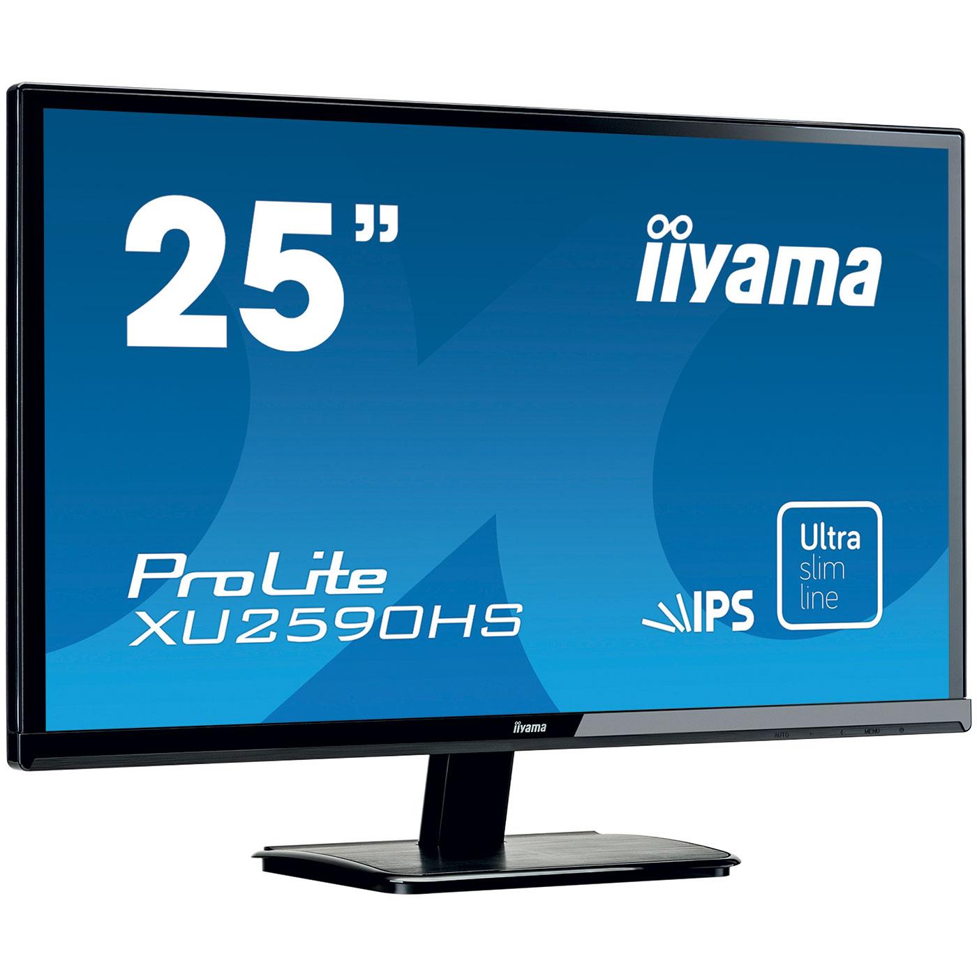 Iiyama 25 led prolite xu2590hs b1 xu2590hs b1 achat for Ecran 27 dalle ips