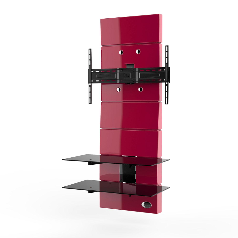 Meliconi ghost design 3000 rouge 488302 achat vente - Meuble ecran videoprojecteur ...