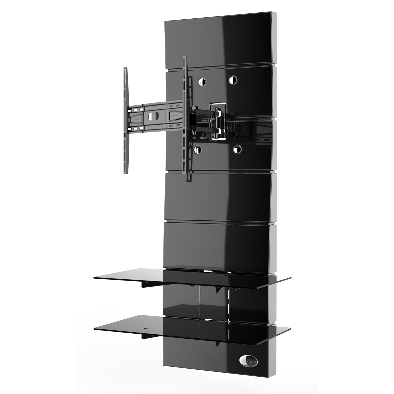 meliconi ghost design 3000 rotation noir meuble tv meliconi sur ldlc. Black Bedroom Furniture Sets. Home Design Ideas