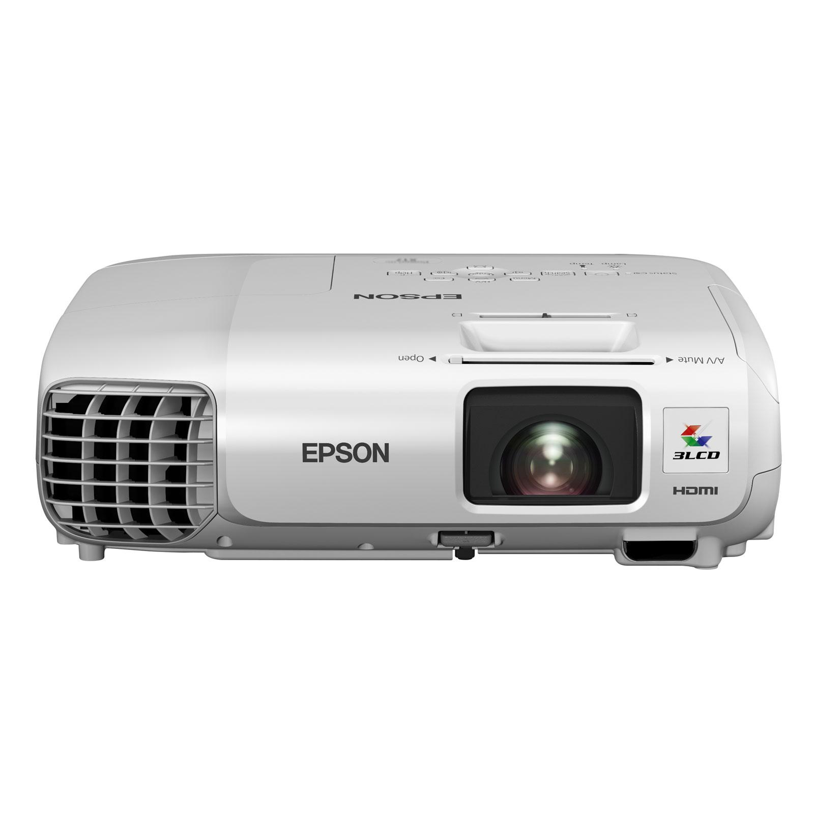 Epson eb x27 vid oprojecteur epson sur ldlc - Support plafond videoprojecteur epson ...