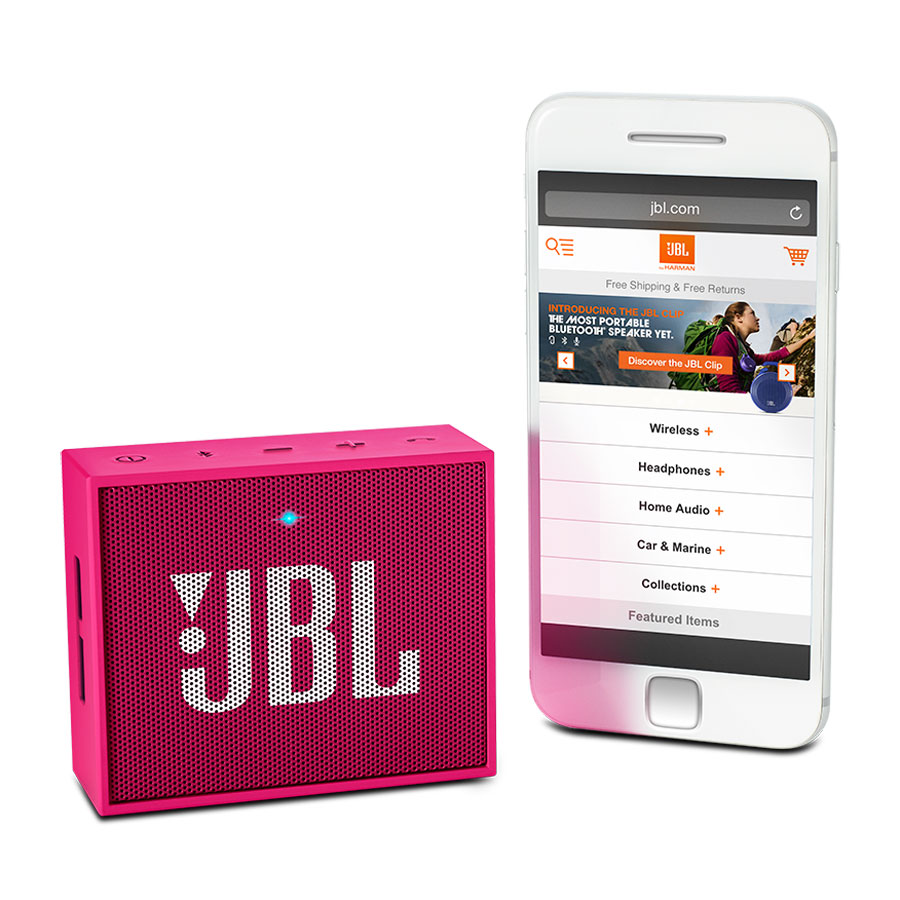 jbl go rose jblgopink achat vente dock enceinte. Black Bedroom Furniture Sets. Home Design Ideas