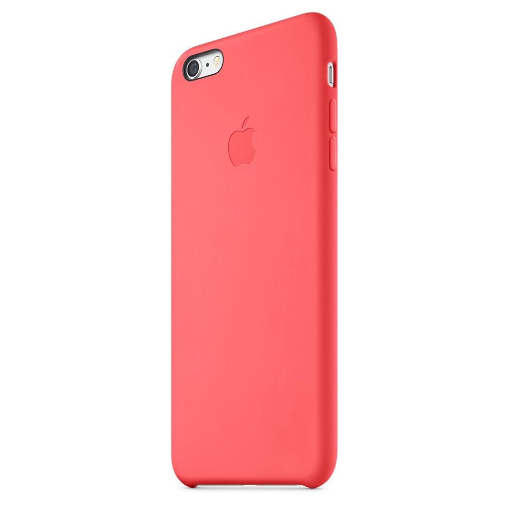 apple coque en silicone rose apple iphone 6 plus etui t l phone apple sur ldlc. Black Bedroom Furniture Sets. Home Design Ideas