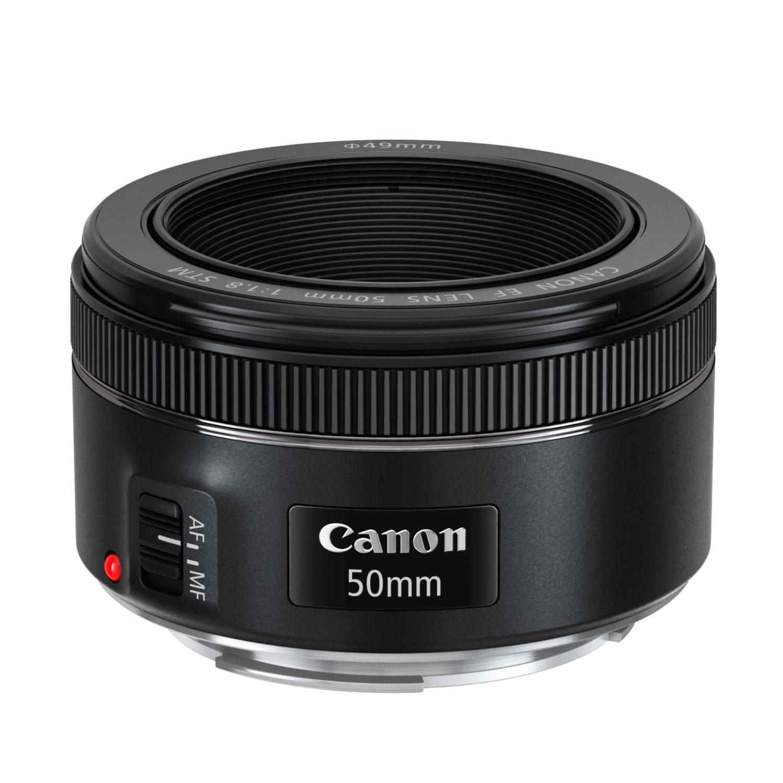 Objectif appareil photo Canon EF 50mm f/1.8 STM Objectif à longueur focale fixe
