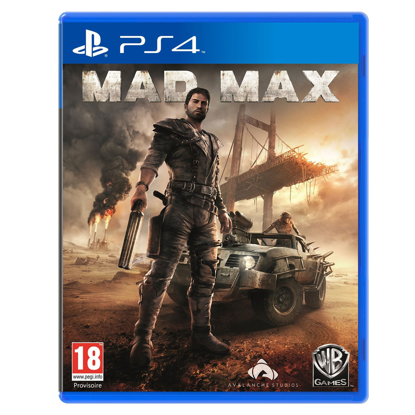 mad max ps4 jeux ps4 warner bros games sur ldlc. Black Bedroom Furniture Sets. Home Design Ideas