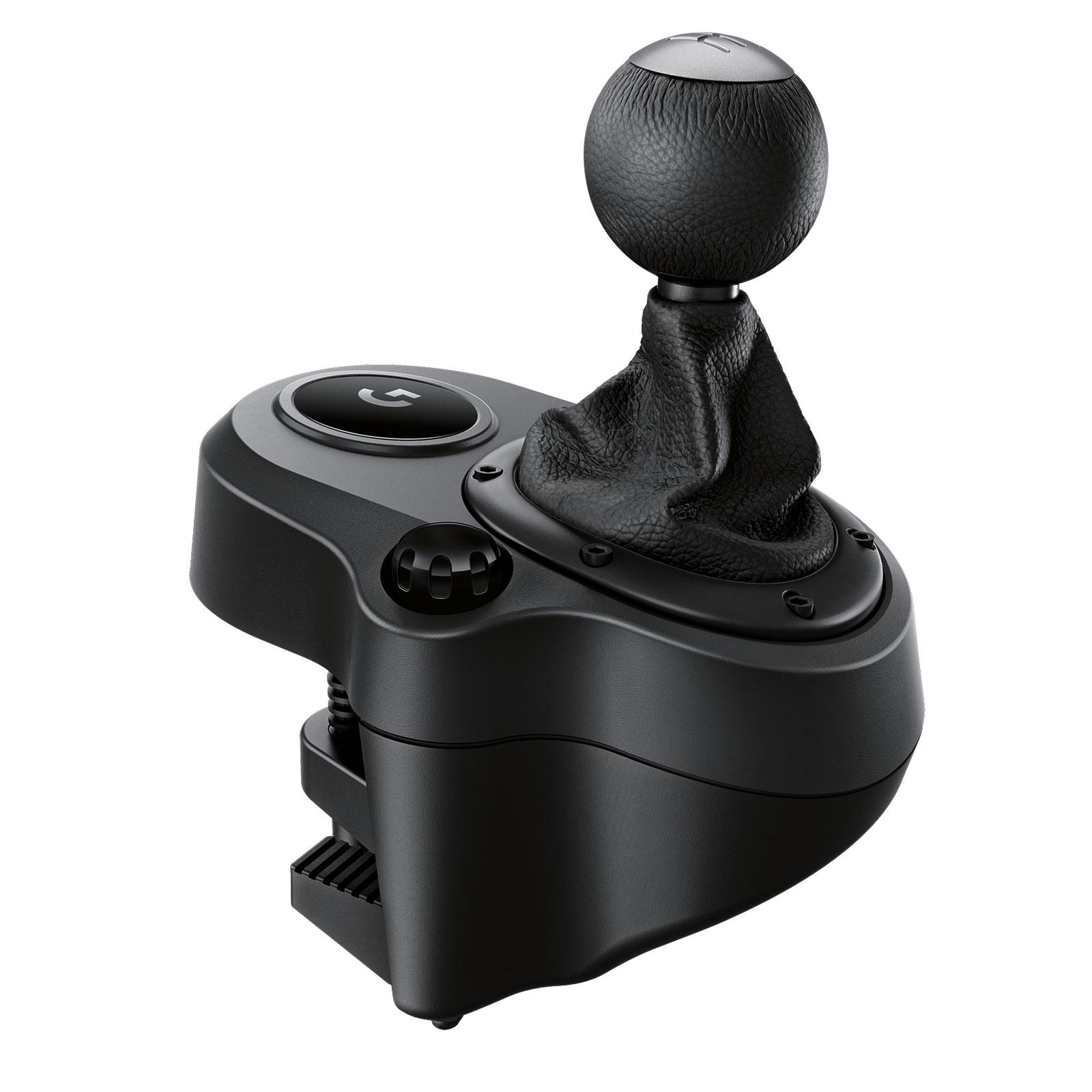 Volant PC Logitech Driving Force Shifter Boite à 6 vitesses pour Logitech G29 et G920