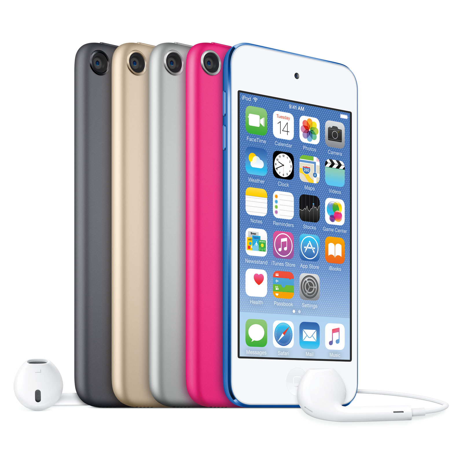 apple ipod touch 16 go argent 2015 lecteur mp3 ipod. Black Bedroom Furniture Sets. Home Design Ideas