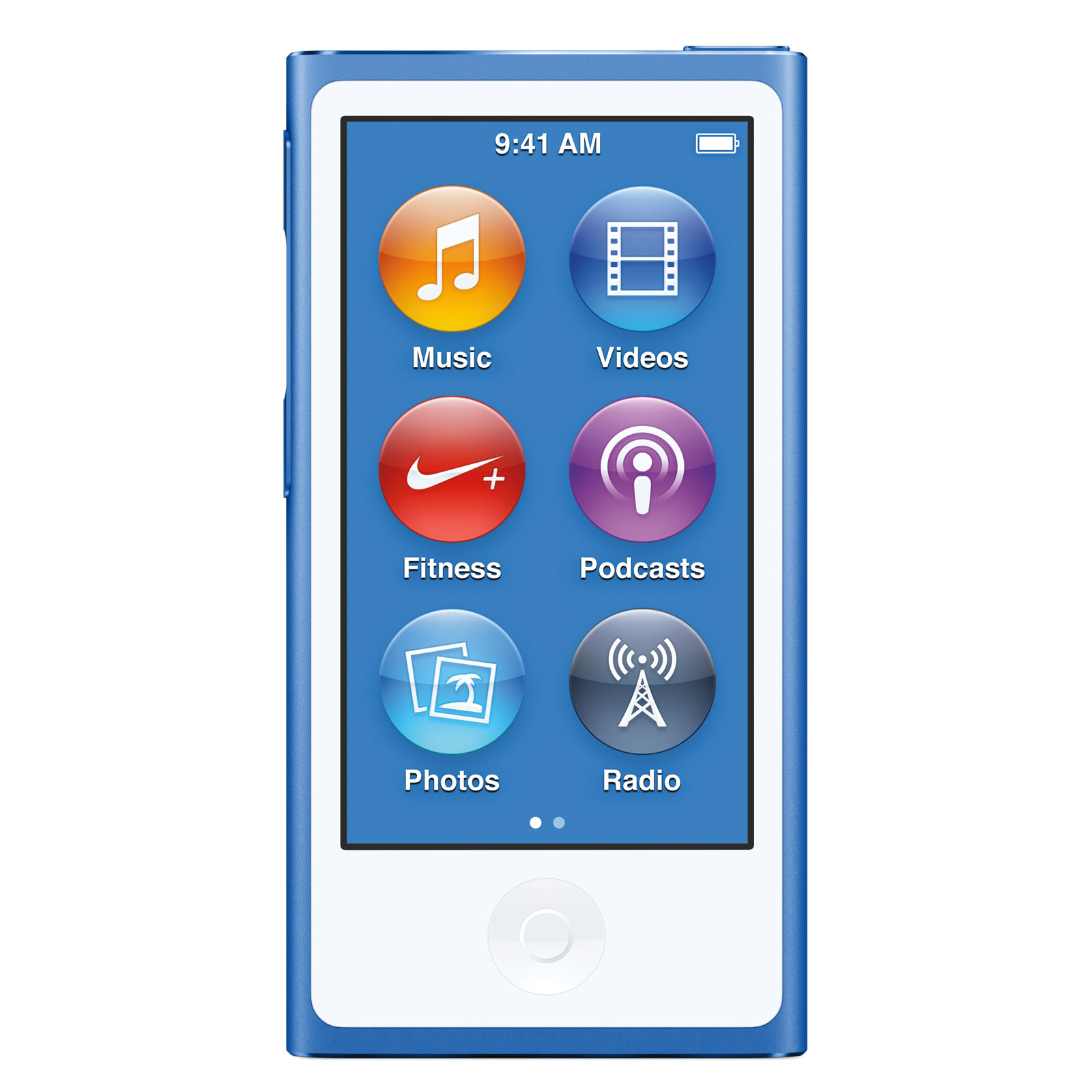 apple ipod nano 16 go bleu 2015 mkn02zd a achat vente lecteur mp3 ipod sur. Black Bedroom Furniture Sets. Home Design Ideas