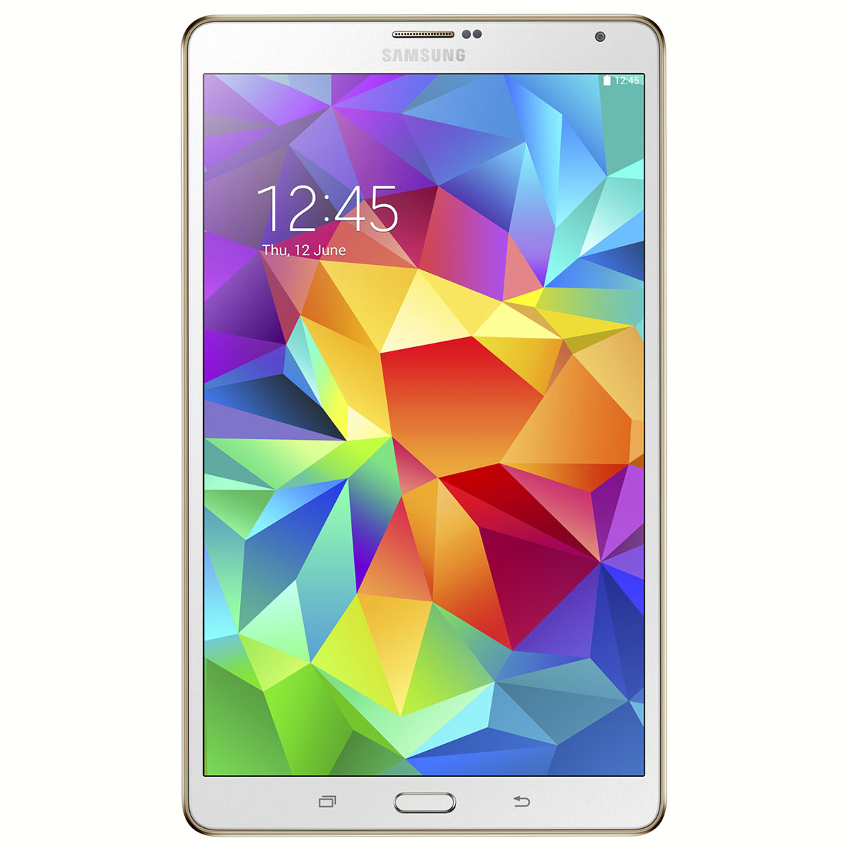 "Tablette tactile Samsung Galaxy Tab 4 7"" SM-T230 8 Go Blanc Tablette Internet - ARM Cortex-A7 Quad-Core 1.2 GHz 1.5 Go 8 Go 7"" LED Tactile Wi-Fi/Bluetooth/Webcam Android 4.4"