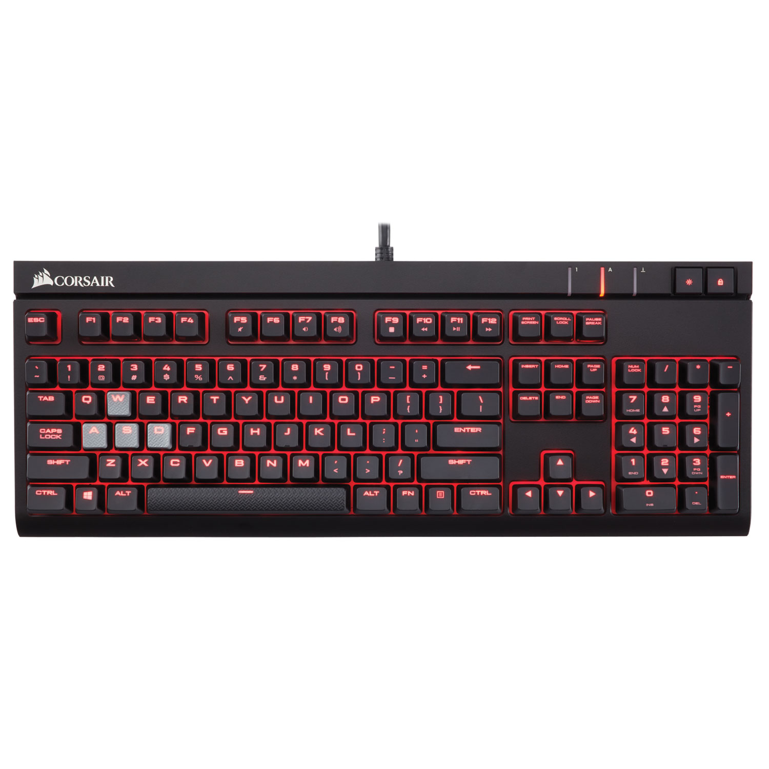 Corsair Gaming STRAFE AZERTY Noir - Switches Cherry MX ...