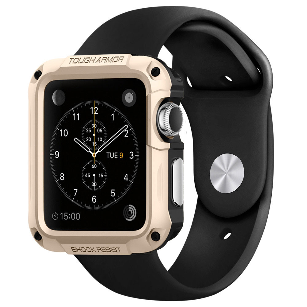 spigen apple watch case tough armor or 42 mm montre bracelets connect s spigen sur ldlc. Black Bedroom Furniture Sets. Home Design Ideas