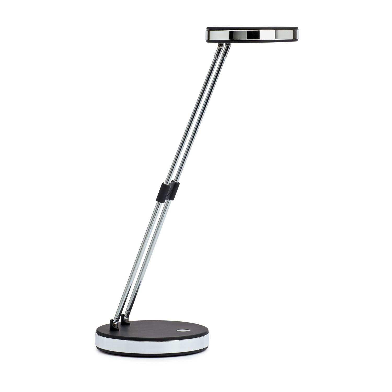Maul lampe led puck noir 8201290 achat vente lampe de bureau sur - Lampe de bureau noire ...