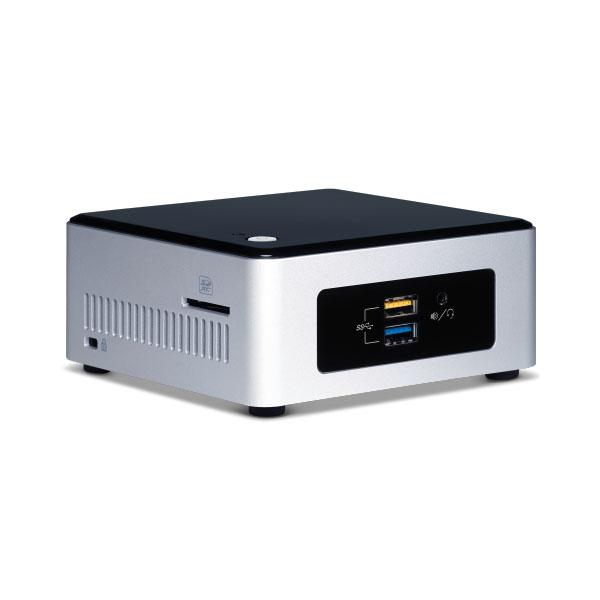 """Barebone PC Intel NUC NUC5CPYH Intel Celeron N3050 Intel HD Grahpics Wi-Fi AC / Bluetooth 4.0 + emplacements SATA 2.5"""" (sans écran/mémoire/disque dur)"""