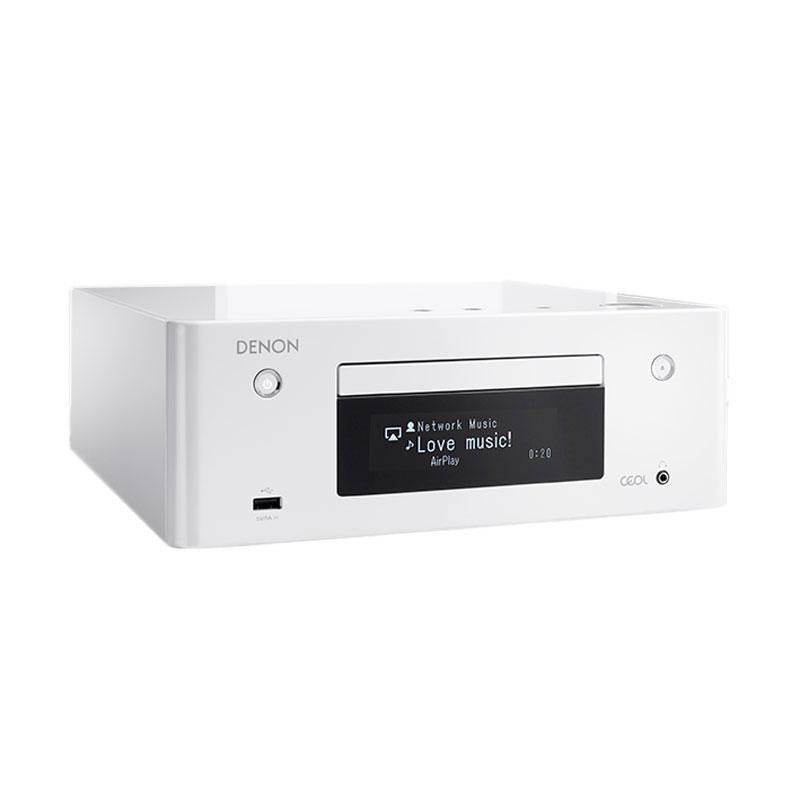 Chaîne Hifi Denon CEOL N9 Blanc - Sans HP Micro-chaîne CD MP3 USB réseau Wi-Fi Bluetooth DLNA avec contrôle iOS et Android (sans haut-parleurs)
