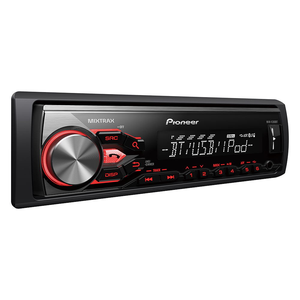 pioneer mvh x380bt autoradio pioneer sur ldlc. Black Bedroom Furniture Sets. Home Design Ideas