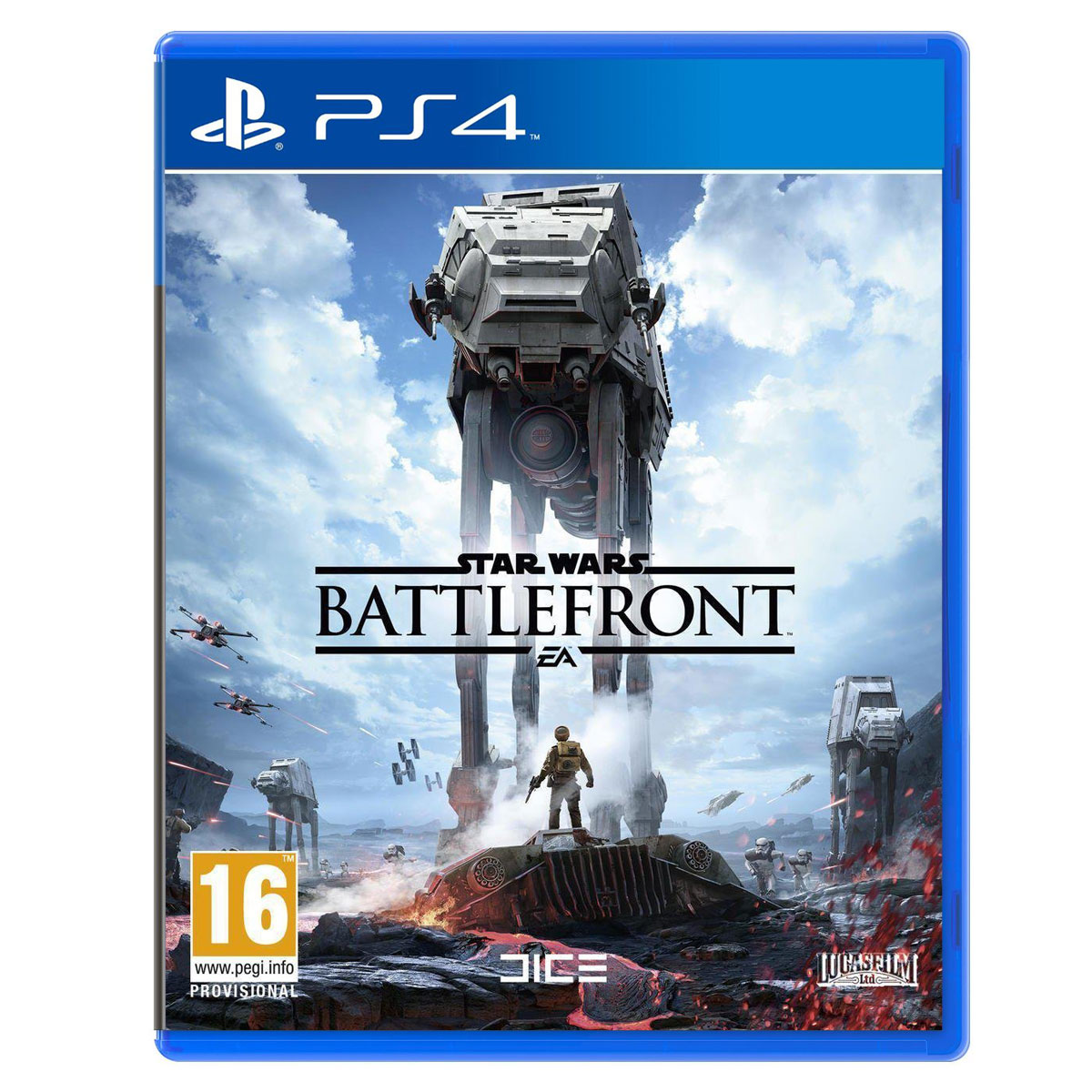 star wars battlefront ps4 jeux ps4 electronic arts. Black Bedroom Furniture Sets. Home Design Ideas