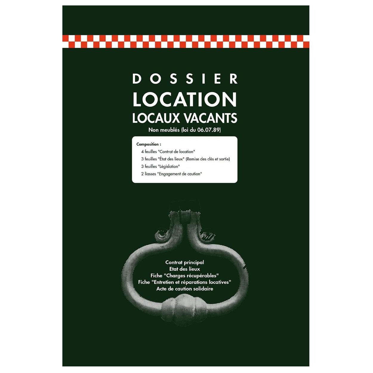 Exacompta contrat de location de locaux vacants registre - Contrat de location non meuble a imprimer ...