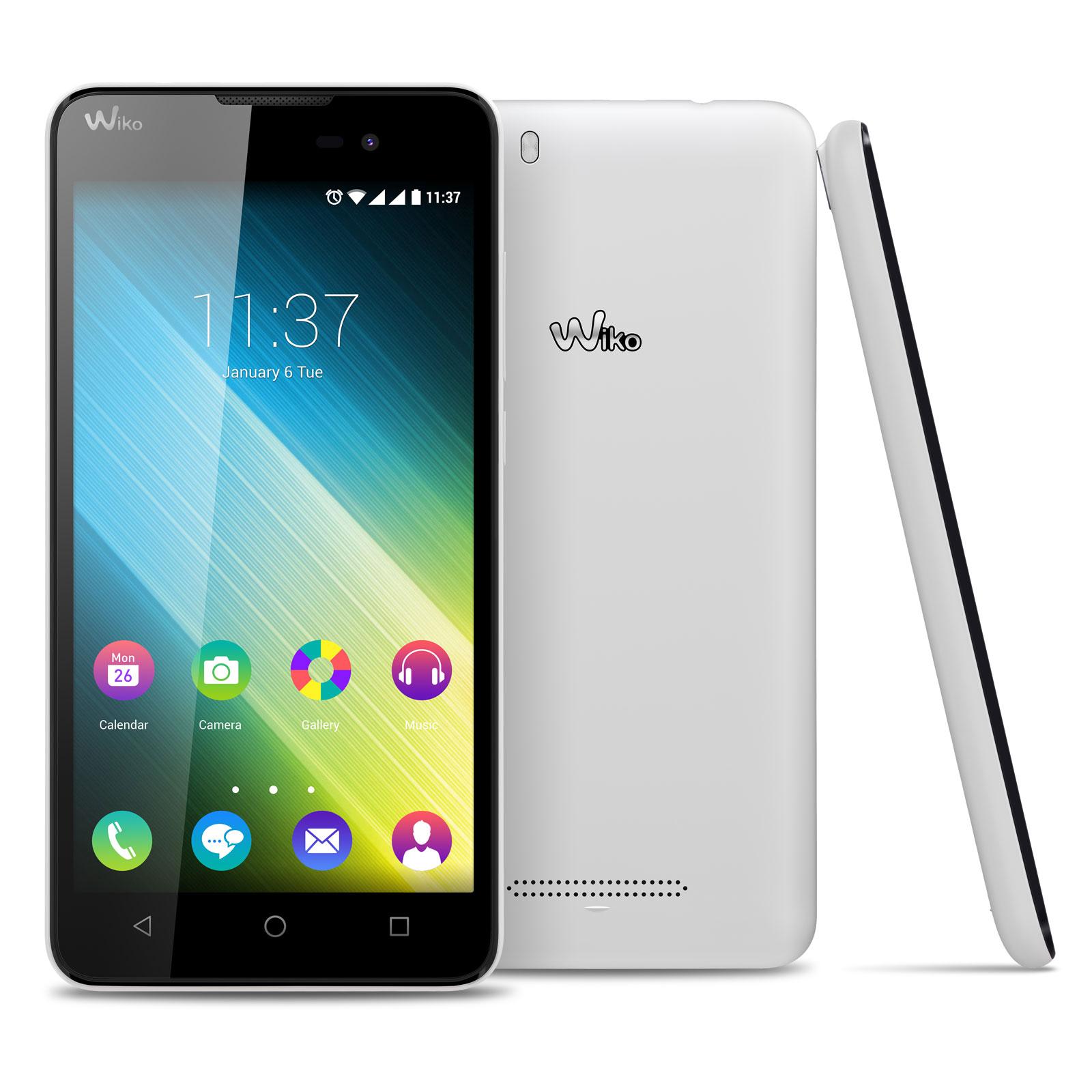 Wiko lenny 2 blanc mobile smartphone wiko sur ldlc for Photo ecran wiko