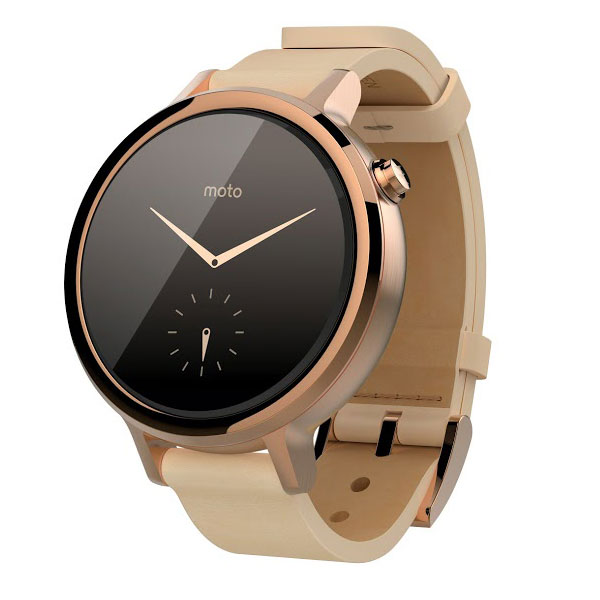 motorola moto 360 2 me g n ration rose or montre bracelets connect s motorola sur ldlc. Black Bedroom Furniture Sets. Home Design Ideas
