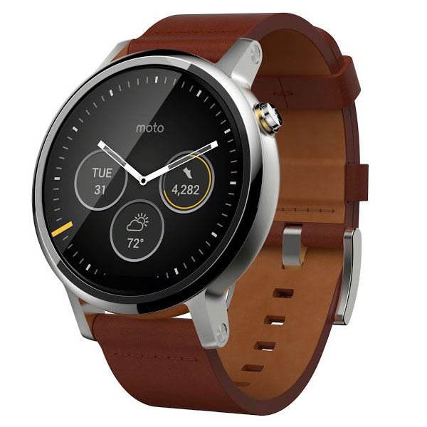 motorola moto 360 2 me g n ration cognac montre bracelets connect s motorola sur ldlc. Black Bedroom Furniture Sets. Home Design Ideas