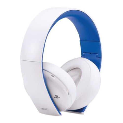 sony playstation wireless stereo headset 2 0 blanc. Black Bedroom Furniture Sets. Home Design Ideas