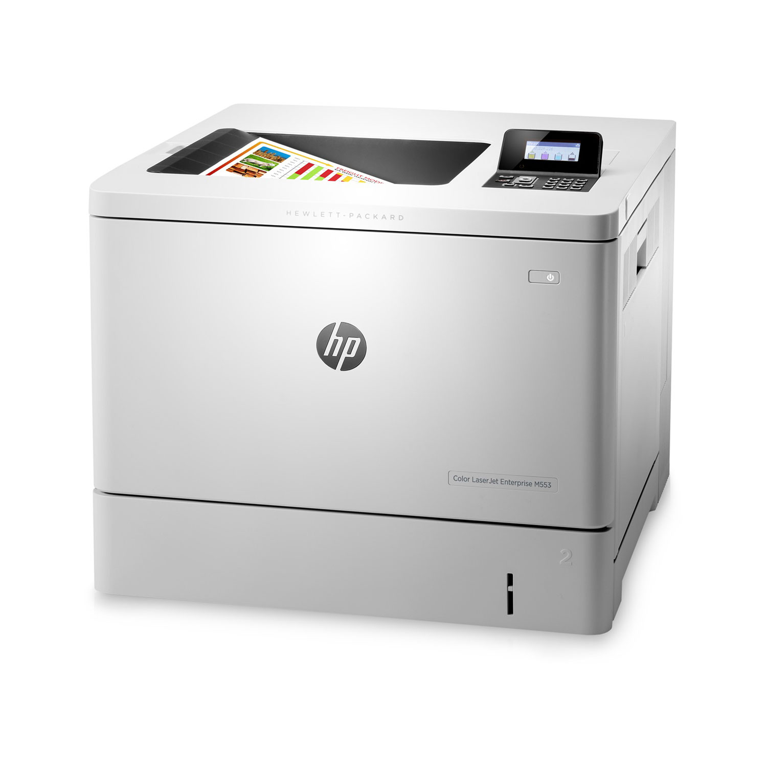 hp color laserjet enterprise m553n imprimante laser hp sur ldlc. Black Bedroom Furniture Sets. Home Design Ideas
