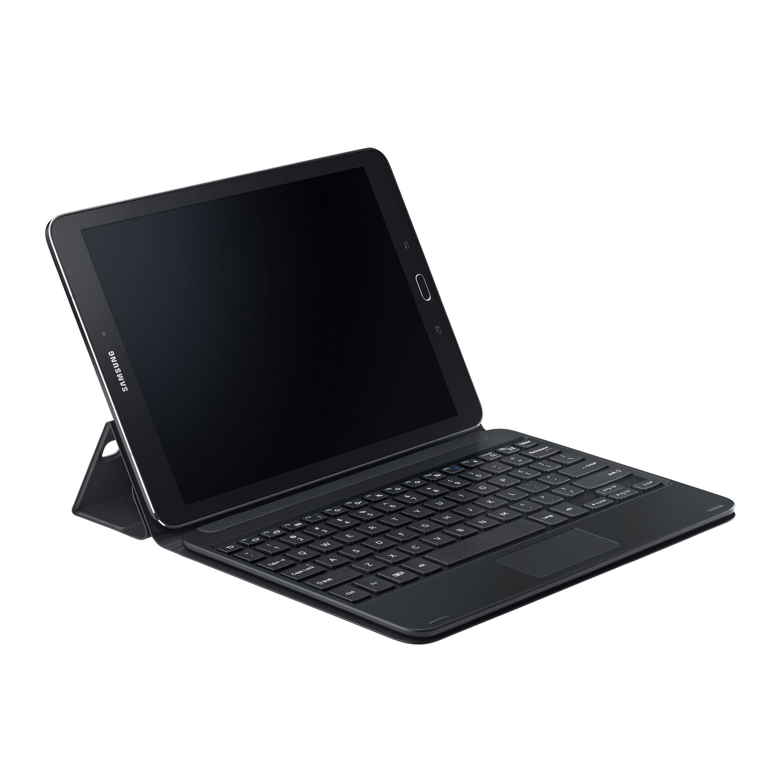 samsung book cover keyboard ej-ft810f noir  pour galaxy tab s2 9 7 u0026quot