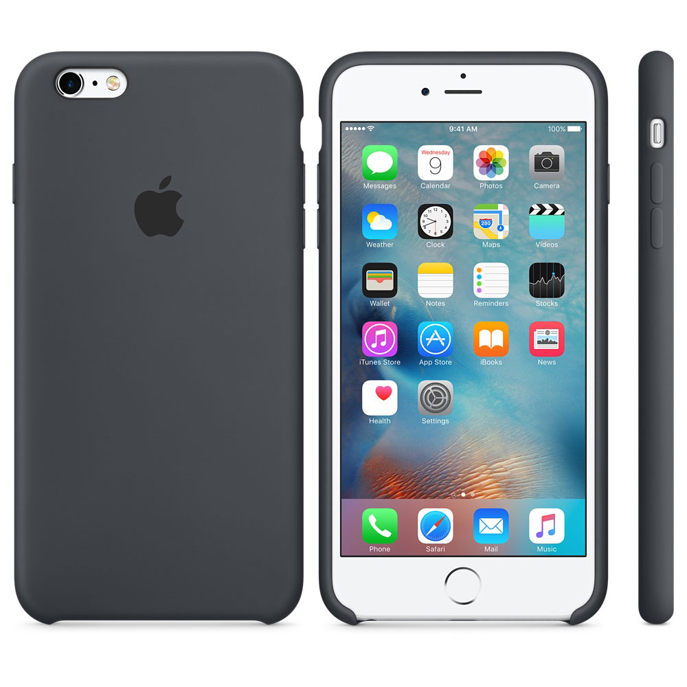 apple coque en silicone gris anthracite apple iphone 6s etui t l phone apple sur ldlc. Black Bedroom Furniture Sets. Home Design Ideas