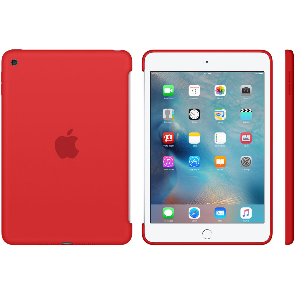 Apple Ipad Mini 4 Silicone Case Rouge Mkln2zm A Achat