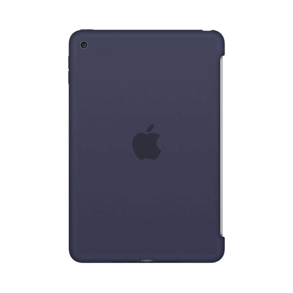 apple ipad mini 4 silicone case bleu nuit accessoires tablette apple sur ldlc. Black Bedroom Furniture Sets. Home Design Ideas