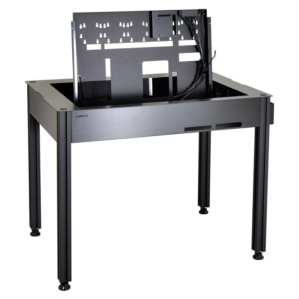 lian li dk q2 dk q2x achat vente bo tier pc sur. Black Bedroom Furniture Sets. Home Design Ideas