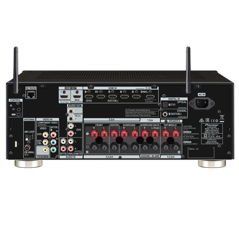 Pioneer Vsx 1130 K Vsx 1130 K Achat Vente Ampli Home
