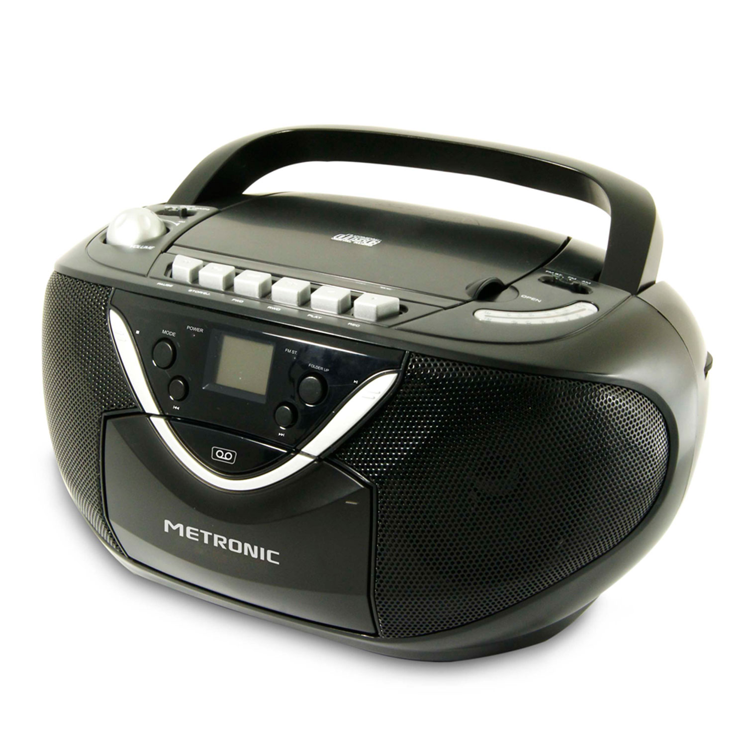 metronic radio cd mp3 cassette radio radio r veil. Black Bedroom Furniture Sets. Home Design Ideas