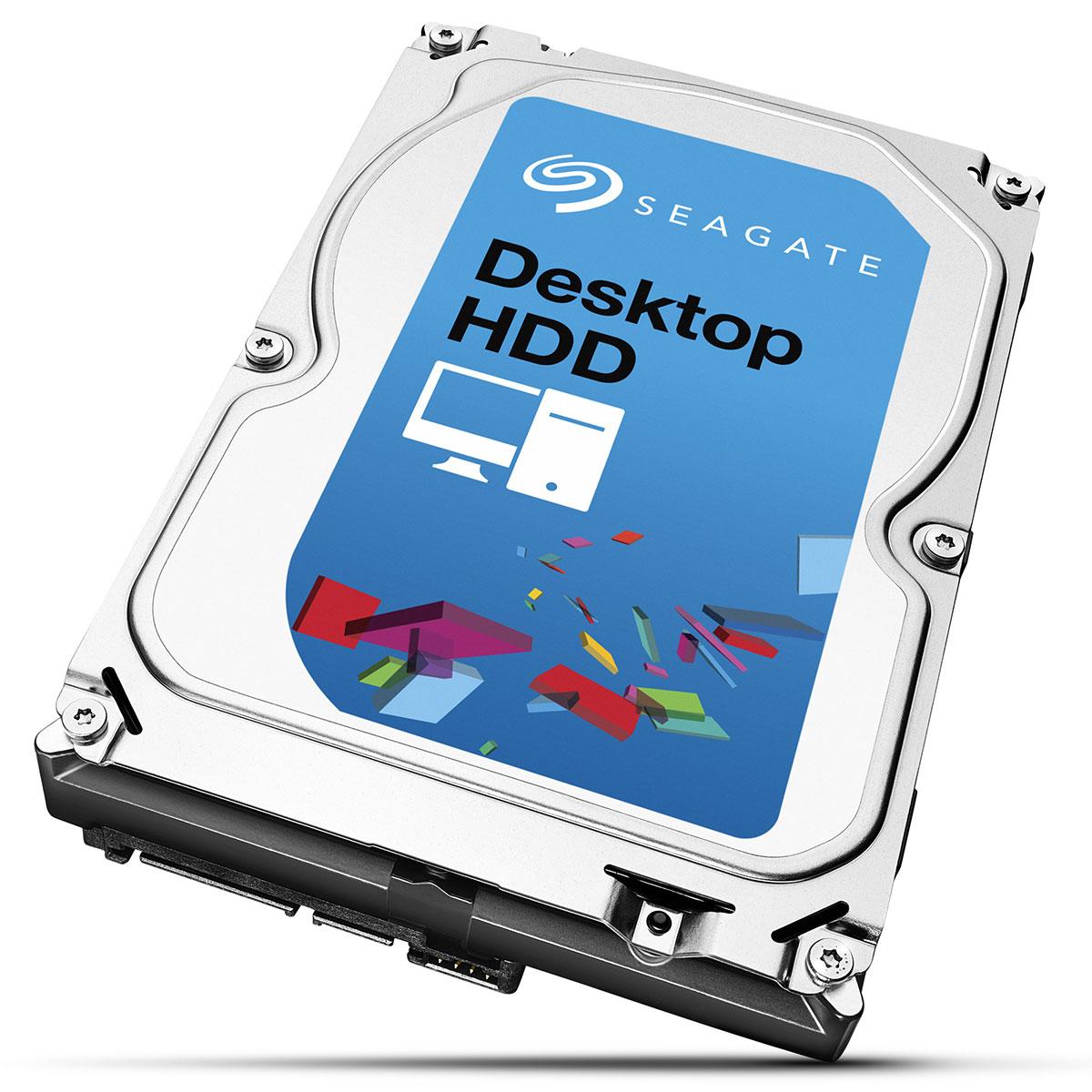 """Disque dur interne Seagate Desktop HDD.15 4 To Disque dur 3.5"""" 4 To 5900 RPM 64 Mo Serial ATA 6 Gb/s (bulk)"""