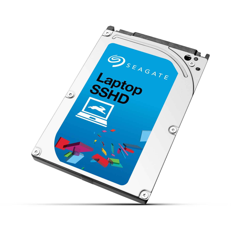 "Disque dur interne Seagate Laptop SSHD 1 To Disque dur Hybride SSD 2.5"" 9.5mm  5400 RPM 64 Mo NAND Flash MLC 8 Go Serial ATA 6Gbits/s (bulk)"
