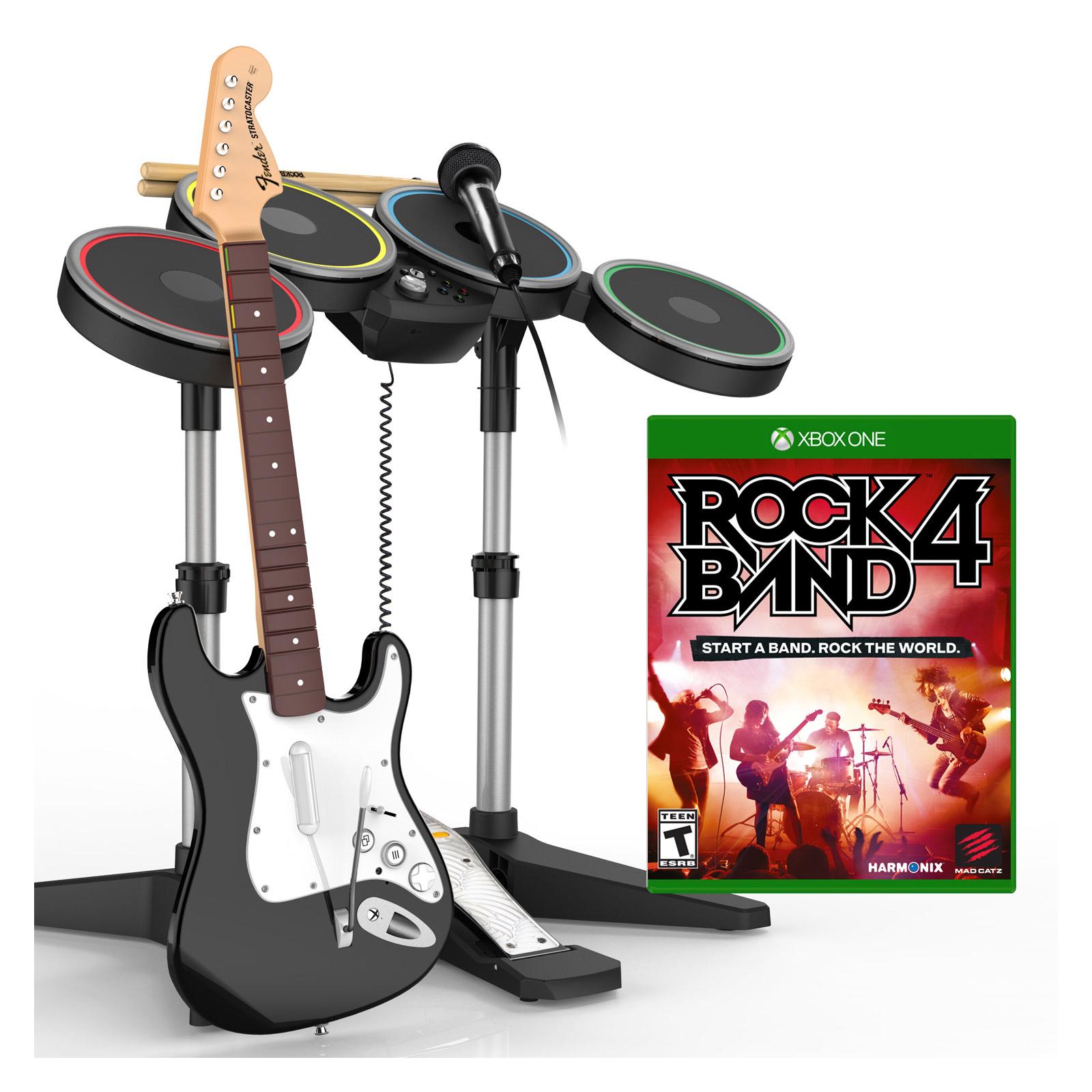 rockband 4 guitare batterie micro xbox one 0728658047597 achat vente jeux xbox one. Black Bedroom Furniture Sets. Home Design Ideas