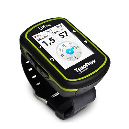 GPS TwoNav Ultra GPS montre rando / vélo / running avec carte carte au 1 : 100 000ème IGN préchargée sur la mémoire interne