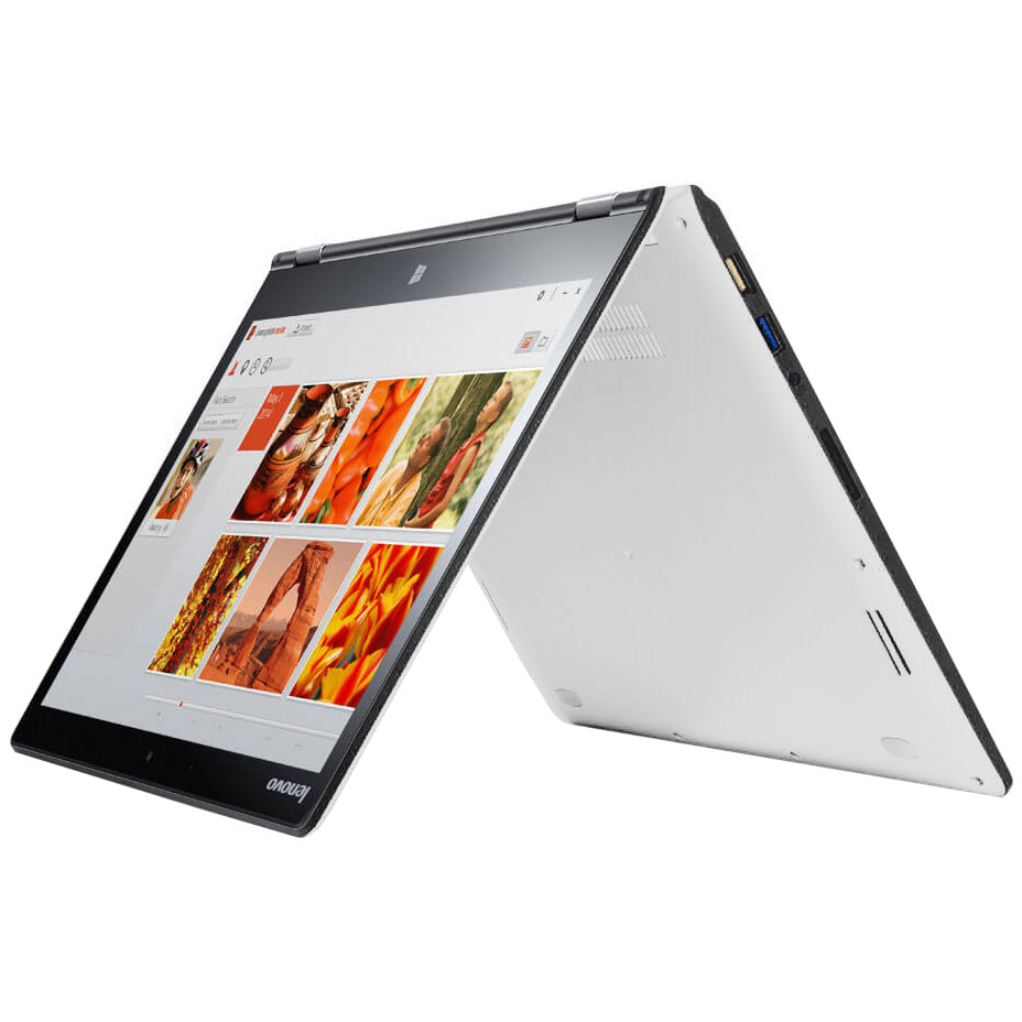 lenovo yoga 3 14 pouces blanc 80jh00lbfr pc portable lenovo sur ldlc. Black Bedroom Furniture Sets. Home Design Ideas