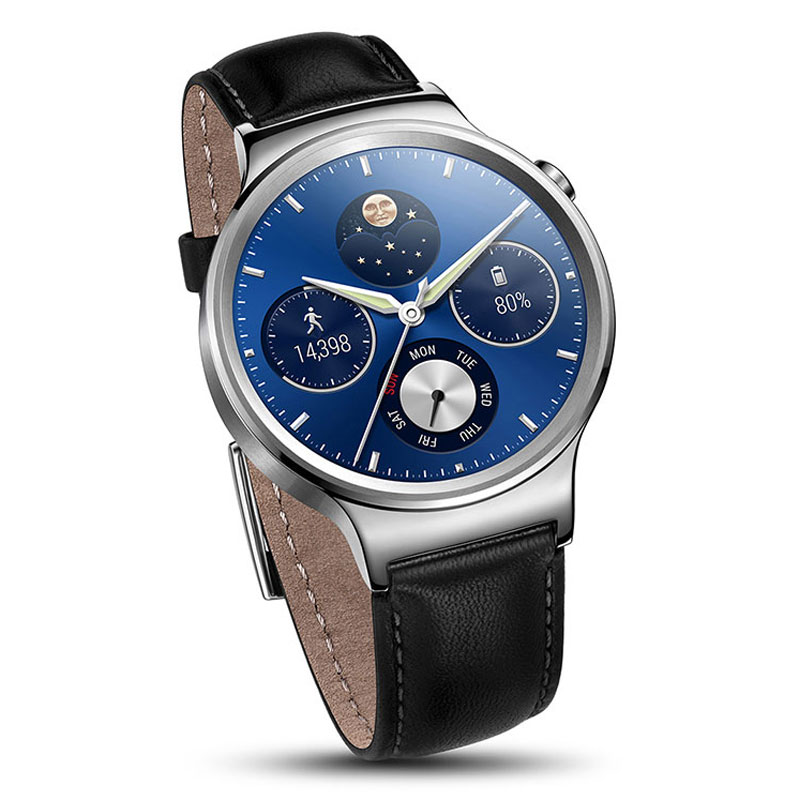 Huawei Watch Classic Argent/Cuir (55020561) : achat ...