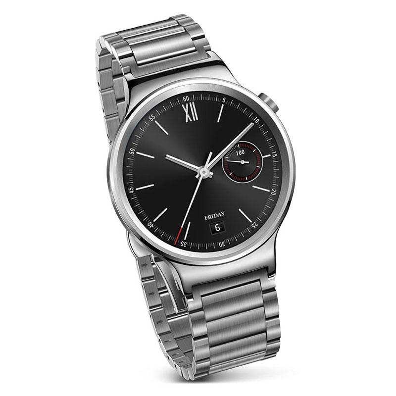 huawei watch classic link argent acier 55020563 achat vente montre bracelets connect s. Black Bedroom Furniture Sets. Home Design Ideas