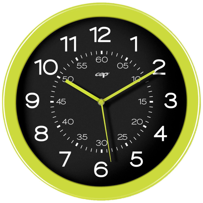 Mobilier et aménagement CEP Gloss Horloge analogique magnétique Anis Horloge aimantée de 30 cm de diamètre