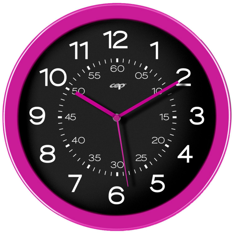 Cep gloss horloge analogique magn tique rose mobilier et am nagement cep su - Horloge 60 cm de diametre ...
