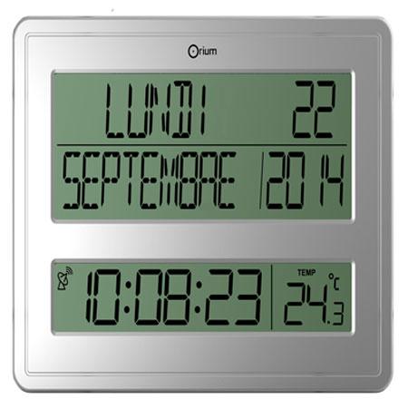 orium horloge digitale calendrier mobilier et am nagement orium sur ldlc. Black Bedroom Furniture Sets. Home Design Ideas