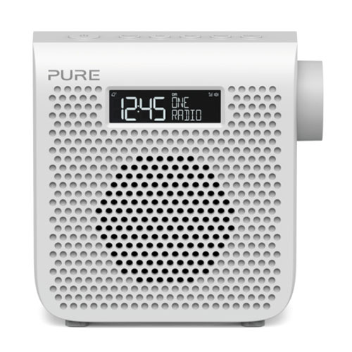Pure one mini series 3 blanc radio radio r veil pure for Radio numerique portable