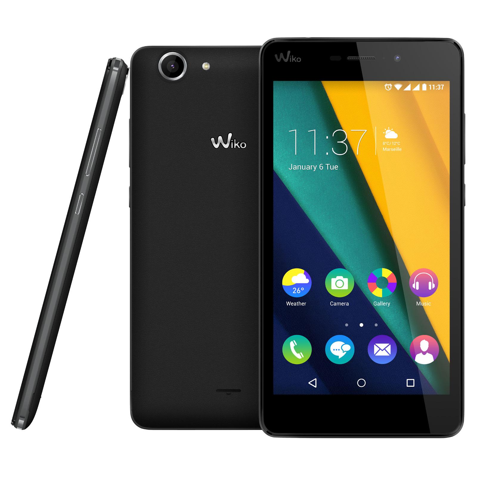 Wiko pulp fab 4g noir mobile smartphone wiko sur ldlc for Photo ecran wiko pulp