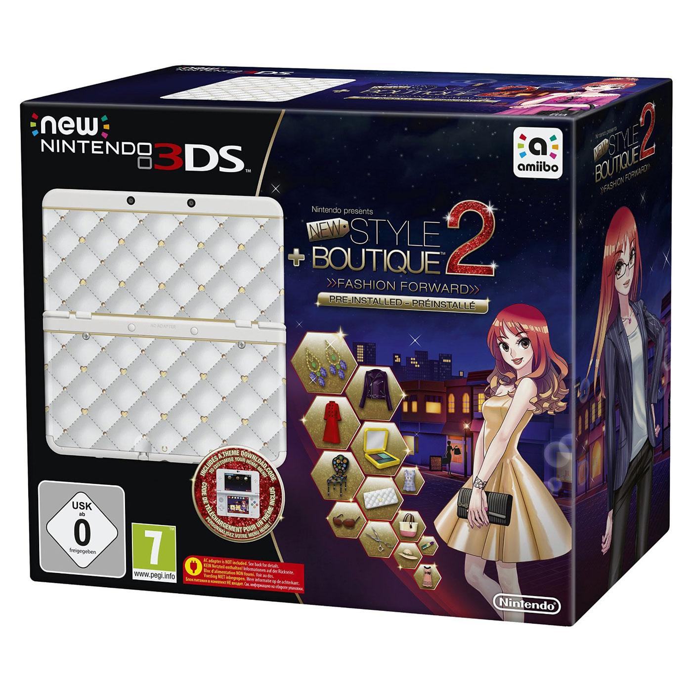 nintendo new 3ds blanche la maison du style 2 les reines de la mode console nintendo 3ds