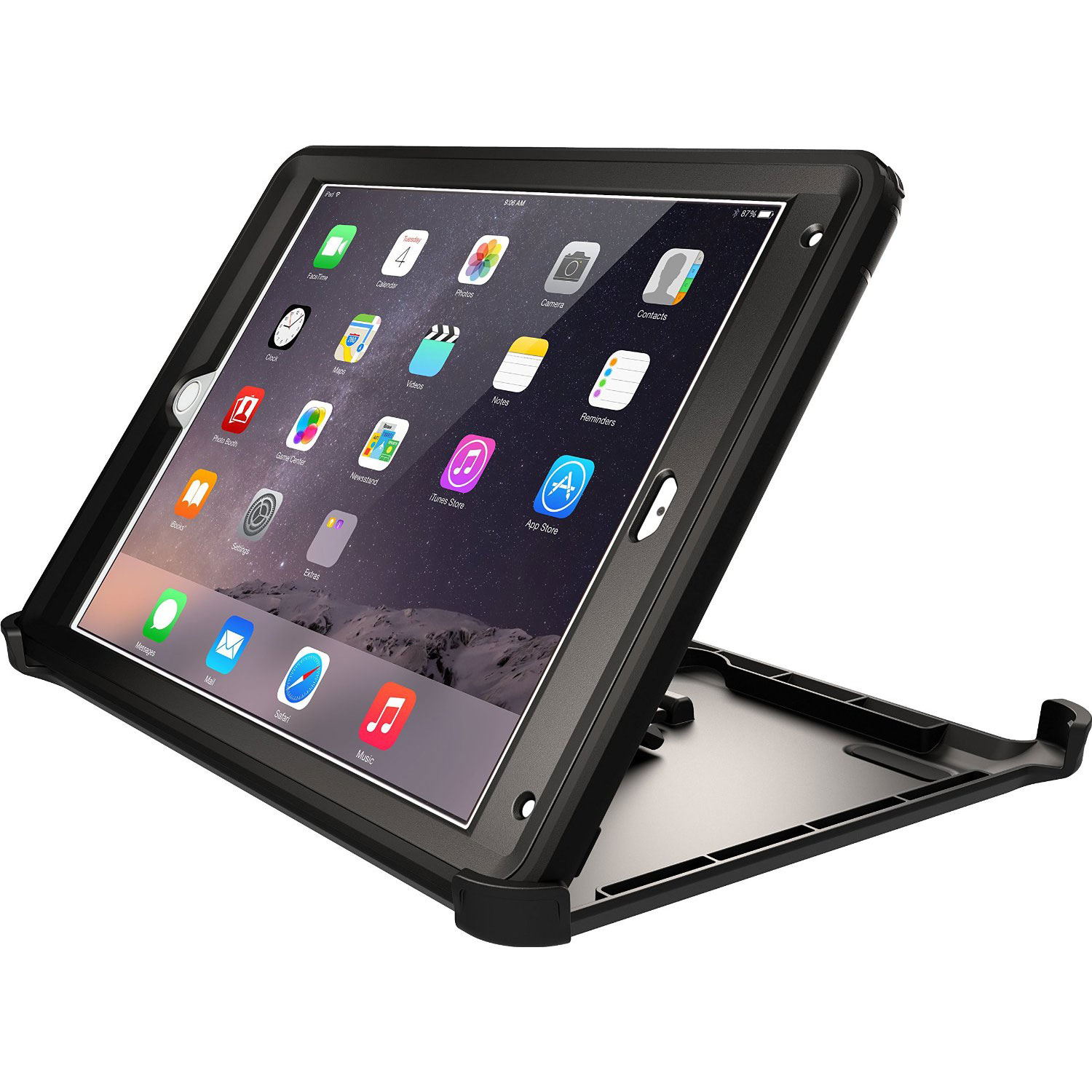 otterbox defender series ipad air 2 accessoires tablette. Black Bedroom Furniture Sets. Home Design Ideas