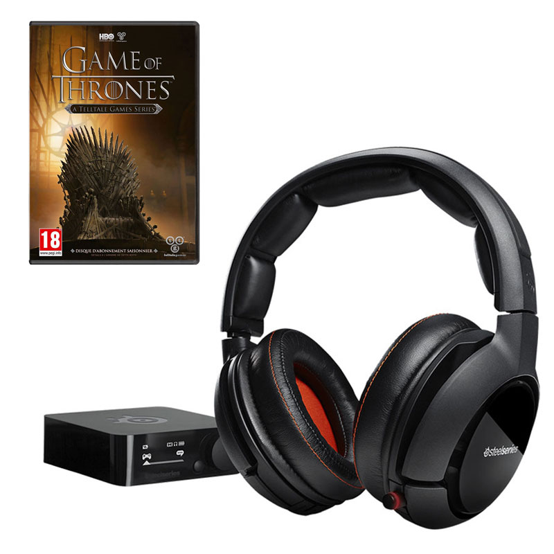 steelseries siberia 800 game of thrones pc offert. Black Bedroom Furniture Sets. Home Design Ideas