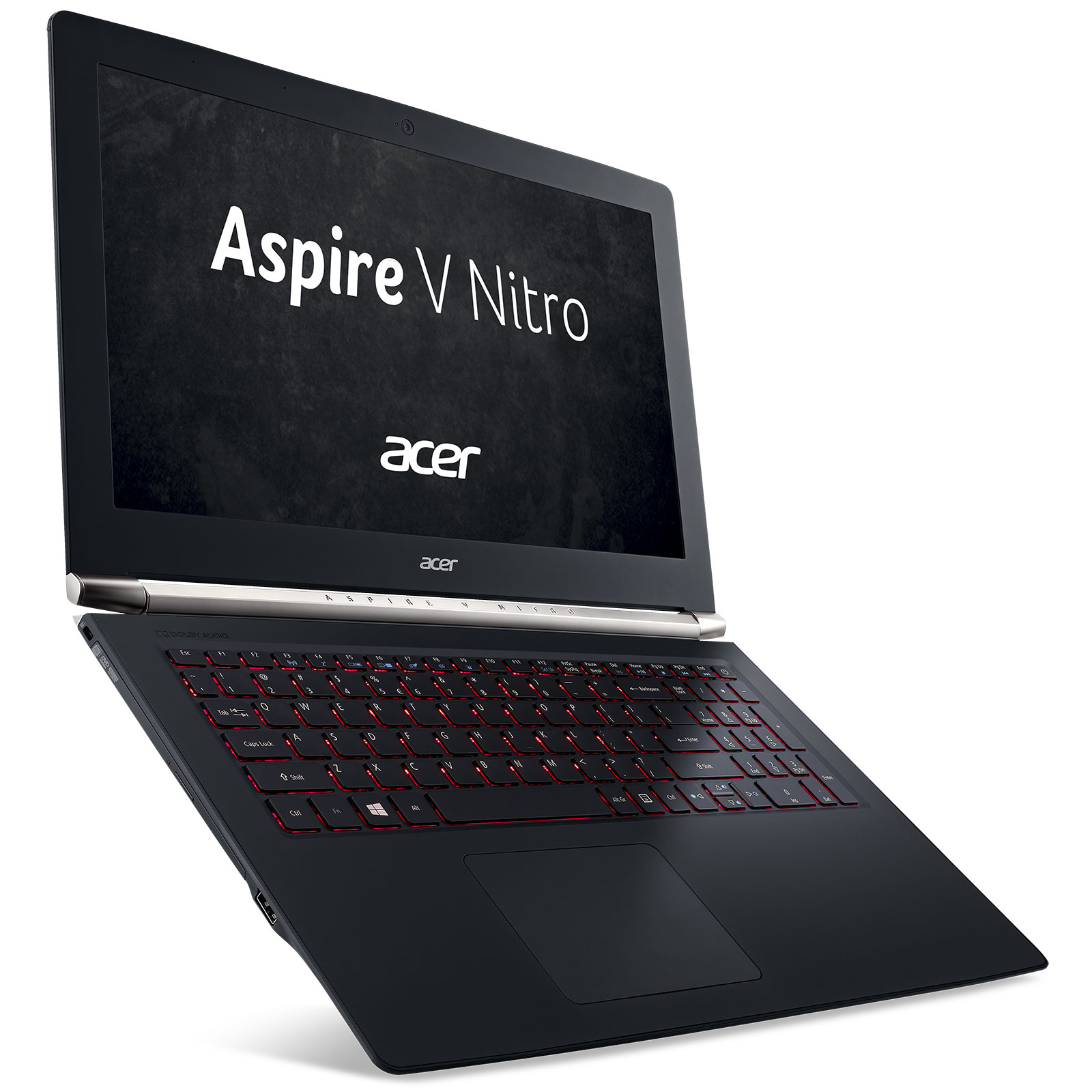 "PC portable Acer Aspire V Nitro VN7-572G-55WV Intel Core i5-6200U 8 Go SSD 128 Go + HDD 1 To 15.6"" LED HD NVIDIA GeForce GTX 950M Graveur DVD Wi-Fi AC/Bluetooth Webcam Windows 10 Famille 64 bits"