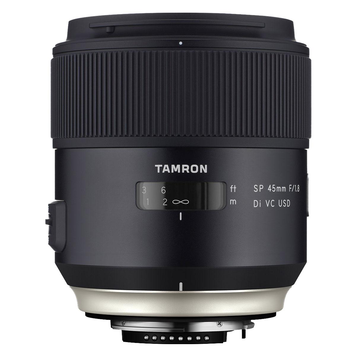 Tamron sp 45mm f 1 8 di vc usd nikon objectif appareil for Objectif a miroir pour nikon